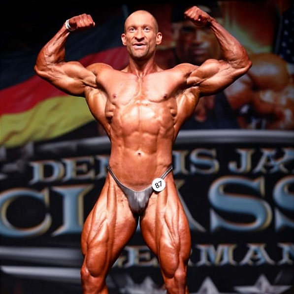 Alex Kropp Bodybuilding Dennis James Cup Posingslip